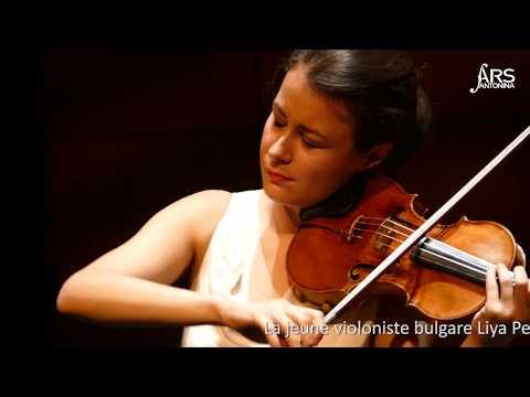 Récital de violon de Liya Petrova au Théâtre des Variétés de Monaco