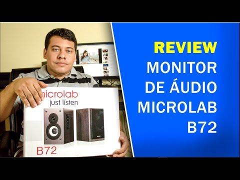 MICROLAB B72 | MONITOR DE ÁUDIO COM MELHOR CUSTO BENEFÍCIO