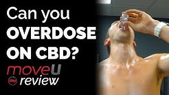 Can you OVERDOSE ON CBD? 4000mg+ in 5 mins | MoveU