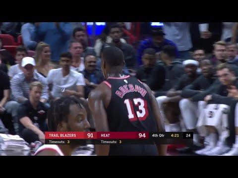 4th Quarter, One Box Video: Miami Heat vs. Portland Trail Blazers