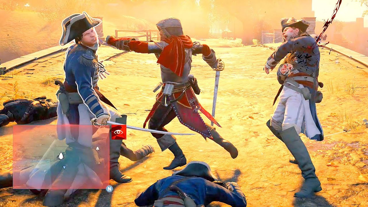 Assassin's Creed Unity Legendary Master Arno Sword Rampage & Free Roam Ultra Settings thumbnail