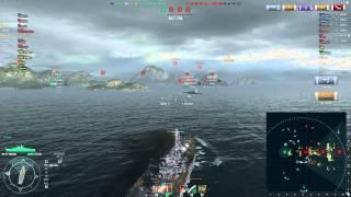 [WoWS 0.4.0.5] Yamato 248k dmg High Caliber, Confederate