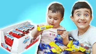 Chocolate Packs -  Celina And Hasouna | العاب اطفالاغاني اطفال