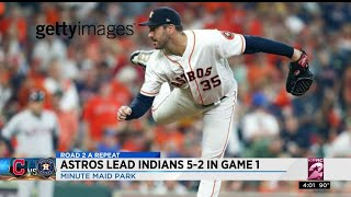 ALDS Game 1: Astros vs. Indians