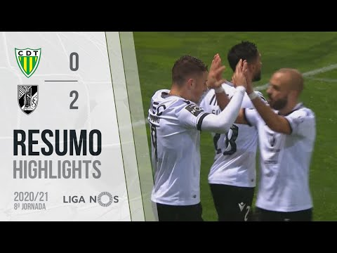 Tondela Guimaraes Goals And Highlights