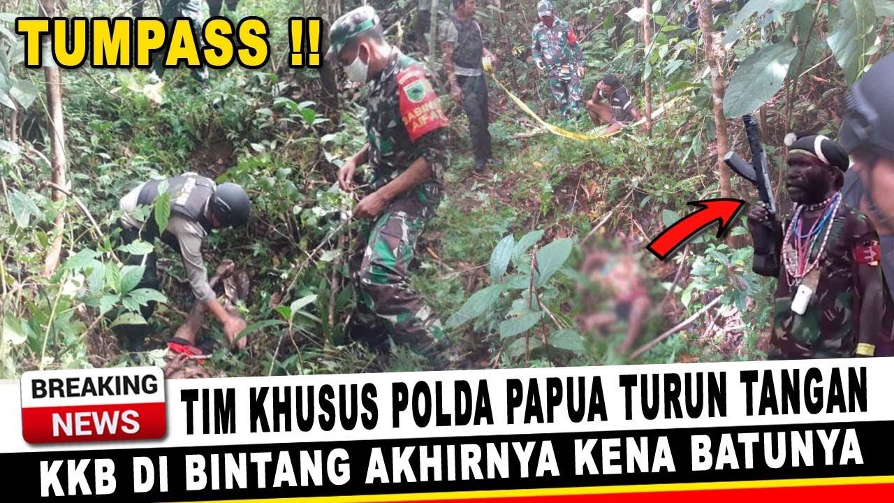 Download BERITA PAPUA TERKINI ~ TIM KHUSUS POLDA PAPUA TURUN TANGAN, K.K.B AKHIRNYA KENA BATUNYA