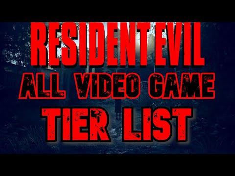Resident Evil Tier List