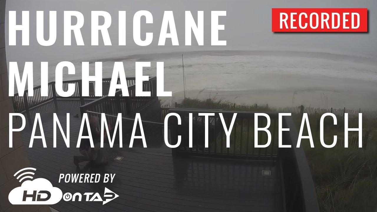 Hurricane Michael Panama City Beach Fl Live Camera
