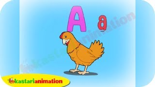 Huruf A-B-C dan D bersama Diva - Kastari Animation Official