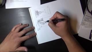 World Building 1: Sketching @ Brainstorm School