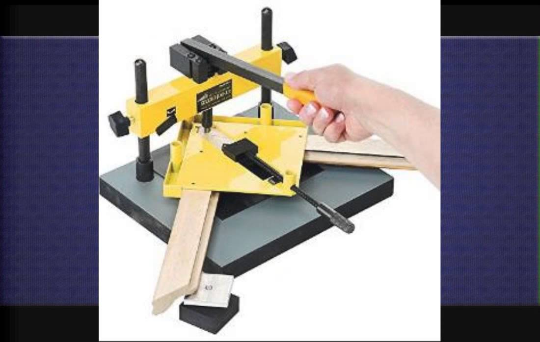 Picture Frame Corner Nailer Youtube