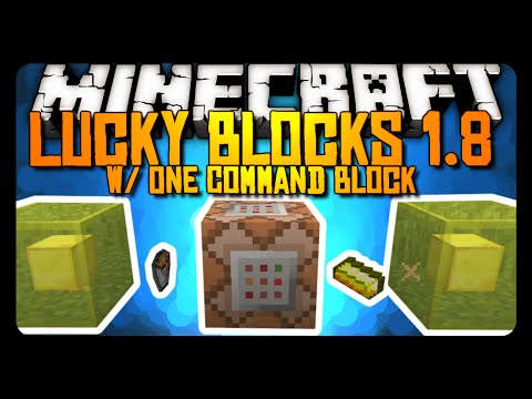 Lucky Blocks Command Block / - mod-