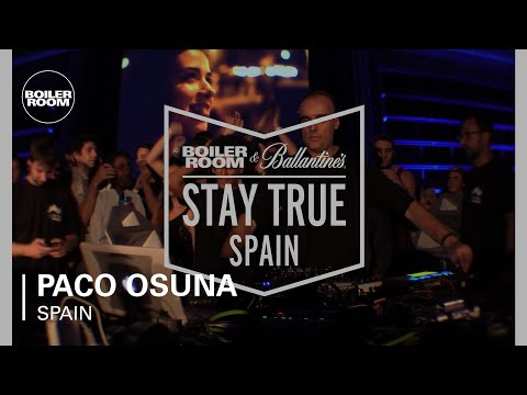 Paco Osuna Boiler Room & Ballantine's Stay True Spain DJ Set