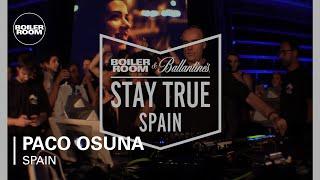 Paco Osuna Boiler Room & Ballantine