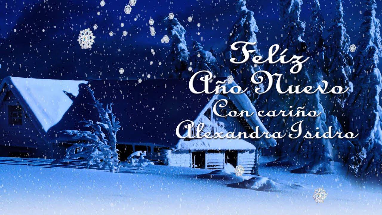 Alexandra isidro paisaje nevado navidad y a o nuevo youtube - Paisaje nevado navidad ...