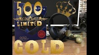 Обзор наушников SONY Wireless Headset Gold 500 Limited Edition
