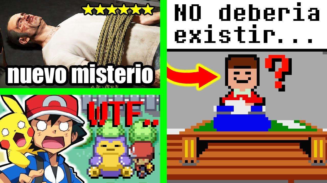 7 Misterios de Videojuegos Resueltos de una vez por Todas (PARTE 9)