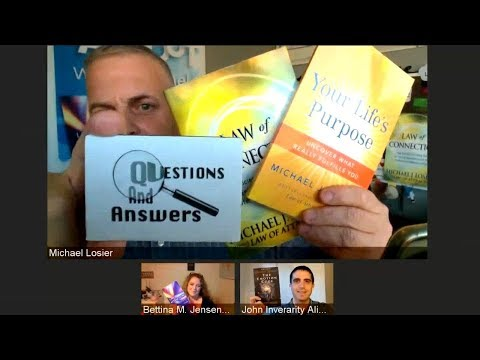 Episode #213 Ask Us Anything! Law of Attraction, N L P , Emotion Code and Life Purpose