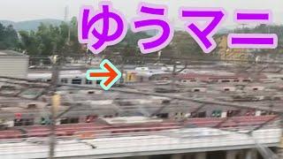 【激レア!】長津田検車区に甲種輸送されたゆうマニ の様子【横浜線経由】