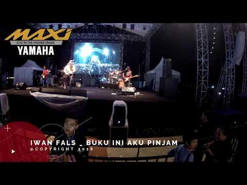IWAN FALS Buku Ini Aku Pinjam - Yamaha MAXI Day 2018 Makassar