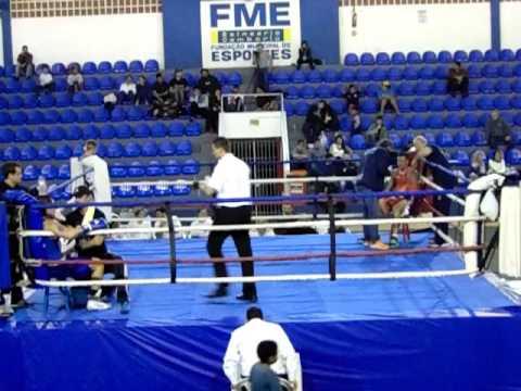 Final - Elite 81kg - Ricardo Miranda (Boxe Training) x Pedro Negreiros(BT Floripa)