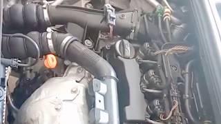 مشكلة في المحرك تاع سيارتي 308 HDI، تخرج دخان وبخار من انبوب التيربو