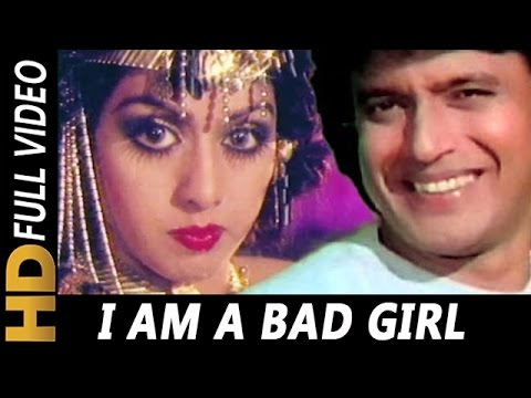 I Am A Bad Girl | Alisha Chinai, Shailendra Singh | Guru 1989 Songs |  Sridevi, Mithun Chakraborty