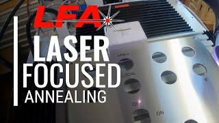 Laser focused annealing - Medical part marking - CT LASER & ENGRAVING