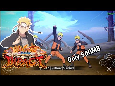 Game Offline Naruto Ppsspp|naruto Ultimate Ninja Impact Cso Android