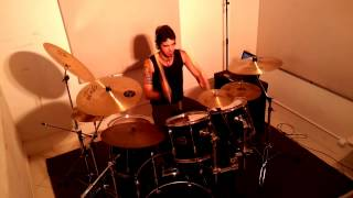 Skid Row - Quicksand Jesus (Videotracks - drum cover by Gledson Gonçalves)