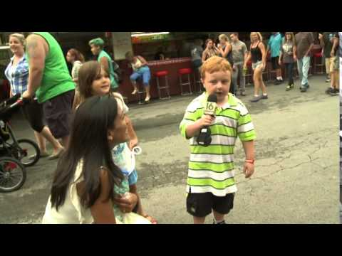 "Raw Video: Kid ""Apparently"" Steals the Show on Pennsylvania TV"