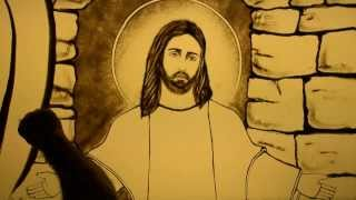Jesus - a lifetime of love - Sand Art by Chawki