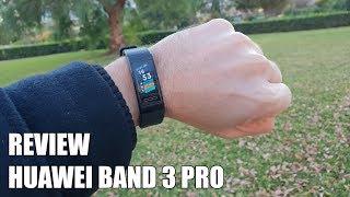 Review Huawei Band 3 Pro Nueva Smartband con GPS 2018