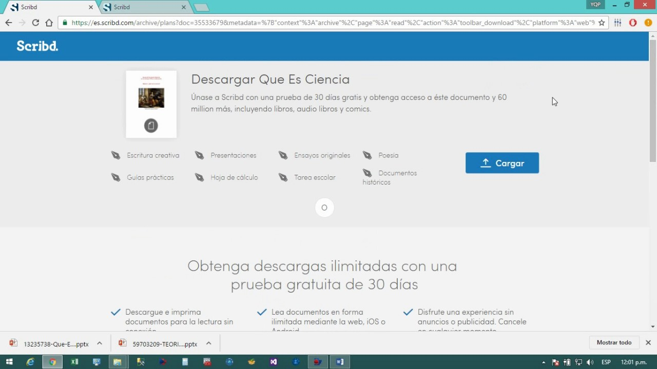 documenti scribd gratis