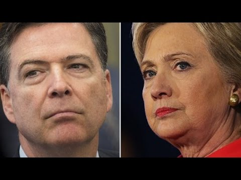FBI Director Faces Backlash From Hillary Letter