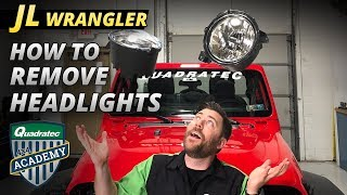 How to Remove Headlights in a 2018 Jeep Wrangler JL