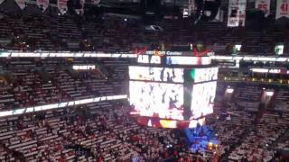Wizards introductions to Big Sean song MOVES Playoff game 1 win!