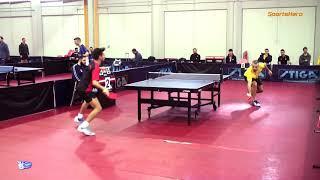 2018-19 Table Tennis Α1 Άνδρες 11η ΑΕΚ-Ταταύλα 08/12/2018