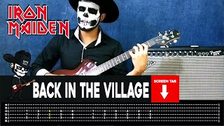 Iron Maiden - Back In The Village (Guitar Cover By Masuka W/Tab)