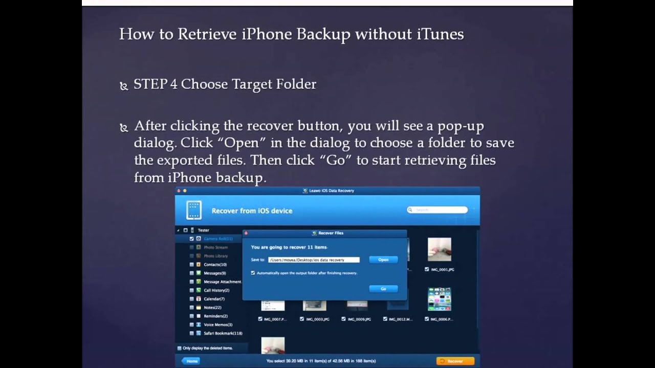 how to remove photos from iphone how to recover iphone and restore data without itunes 1501
