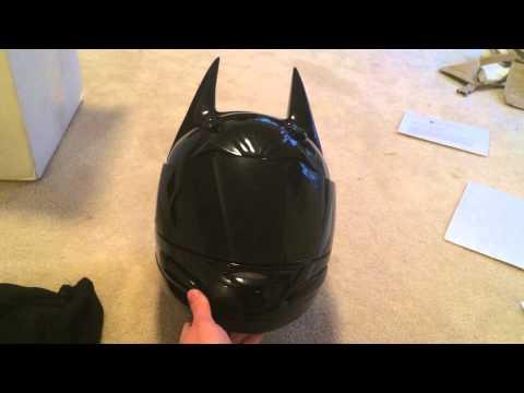 Helmet Dawg Dark Knight Motorcycle Helmet Review
