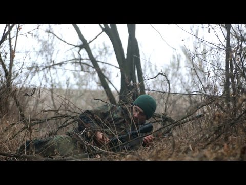 ⚡ Donbass Sniper Deki on the war frontline (full English subtitles) / Снайпер на передовой - Донбасс