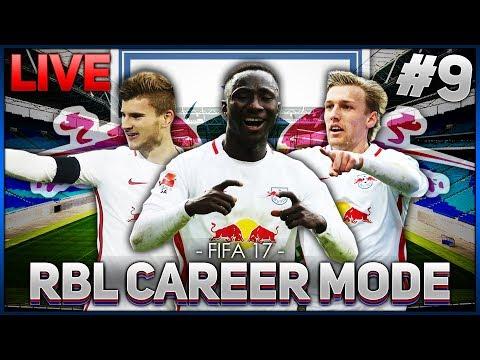 FIFA 17 RB LEIPZIG CAREER MODE! #9   LIVE AGAIN!
