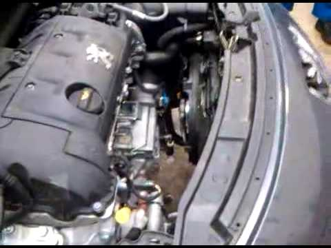 running a peugeot 207 ep6 engine without manifold part 1 - youtube