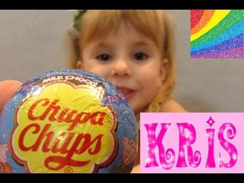 Киндер сюрприз Чупа-Чупс Свинка Пеппа открываем с Крис Kinder Surprise Chupa-Chups Peppa Pig