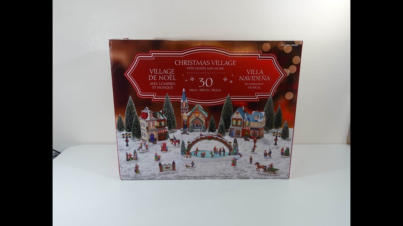 Costco Christmas Village 2018 Unboxing And Review
