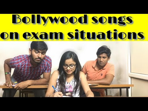 Bollywood Songs On Exam Situations...!!!
