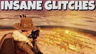 Top 3 Insane Fortnite Save The World Glitches !!