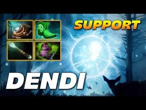 Dendi IO Wisp Support | Dota 2 Pro Gameplay