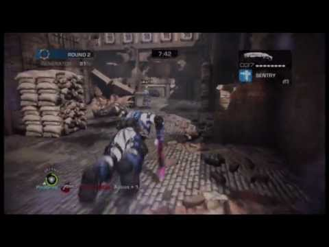 Gears Of War Judgment Overrun - Ranked vs eXg Clan on Ward